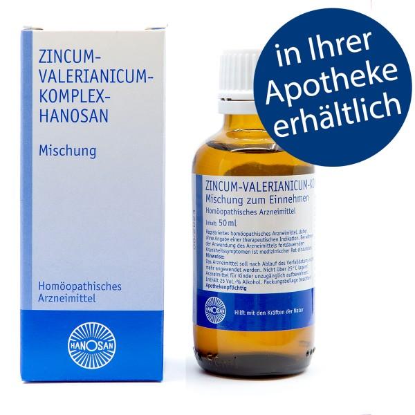Zincum-valerianicum-Komplex-Hanosan