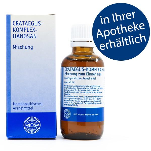 Crataegus-Komplex-Hanosan - Tropfen