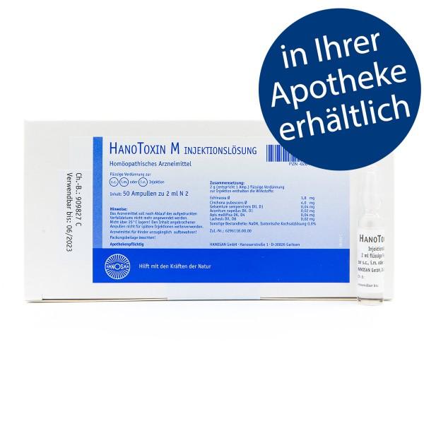 HanoToxin M - Injektion - 50 Amp.