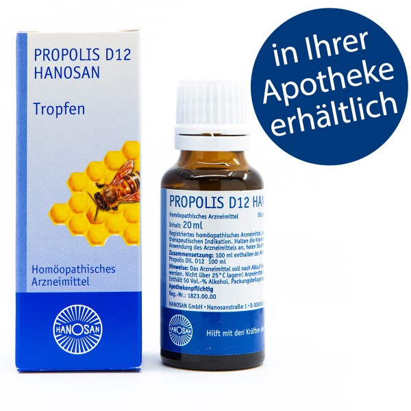 Propolis D12 Hanosan - Tropfen