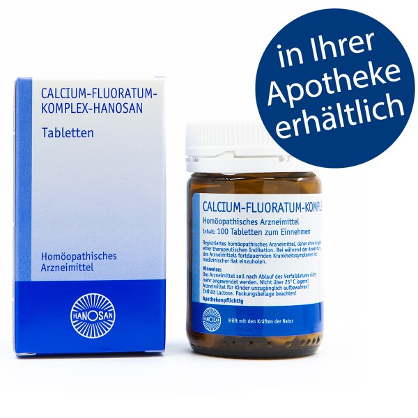 Calcium-fluoratum-Komplex-Hanosan - Tabletten
