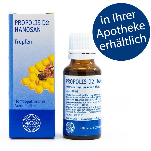Propolis D2 Hanosan - Tropfen - 20 ml