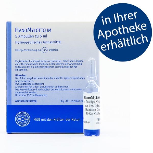 HanoMyloticum - Injektion - 5 Amp.
