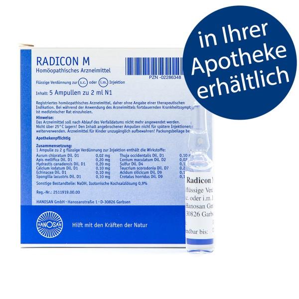Radicon M - Injektion