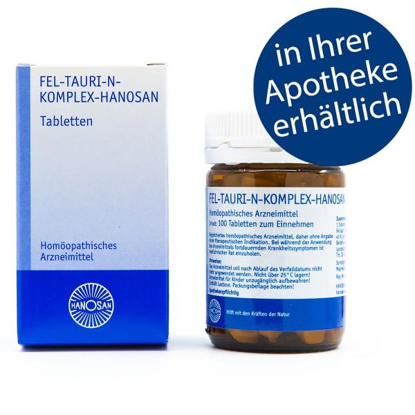 Fel-tauri-N-Komplex-Hanosan - Tabletten