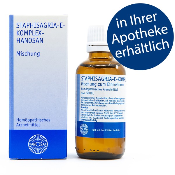 Staphisagria-E-Komplex-Hanosan - Tropfen