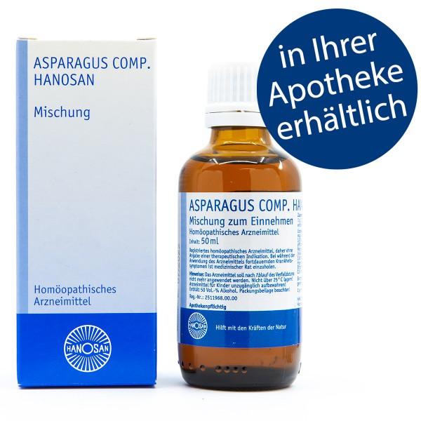 Asparagus comp. Hanosan - Tropfen