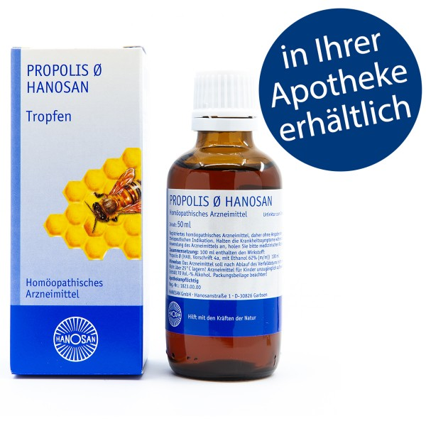 Propolis Ø Hanosan - Tropfen - 50 ml