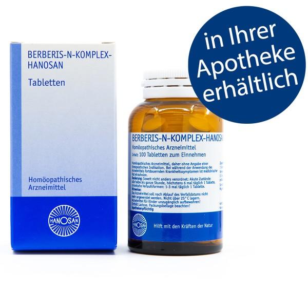 Berberis-N-Komplex-Hanosan - Tabletten