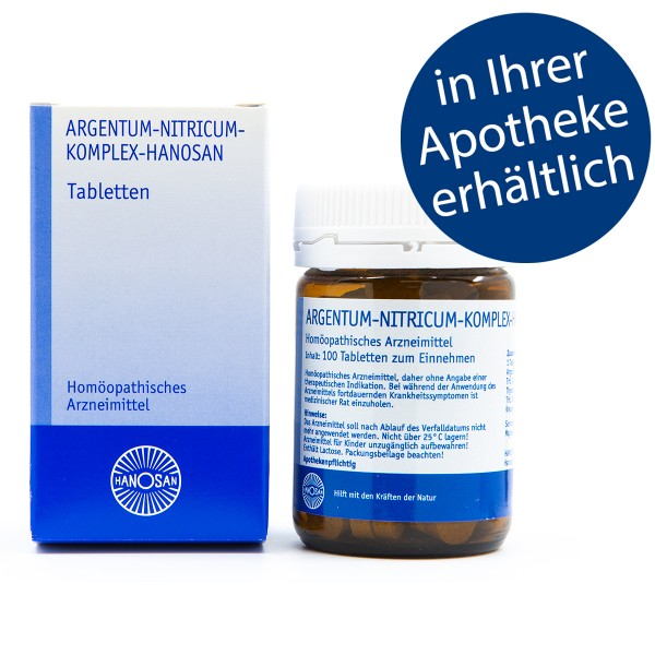 Argentum-nitricum-Komplex-Hanosan - Tabletten