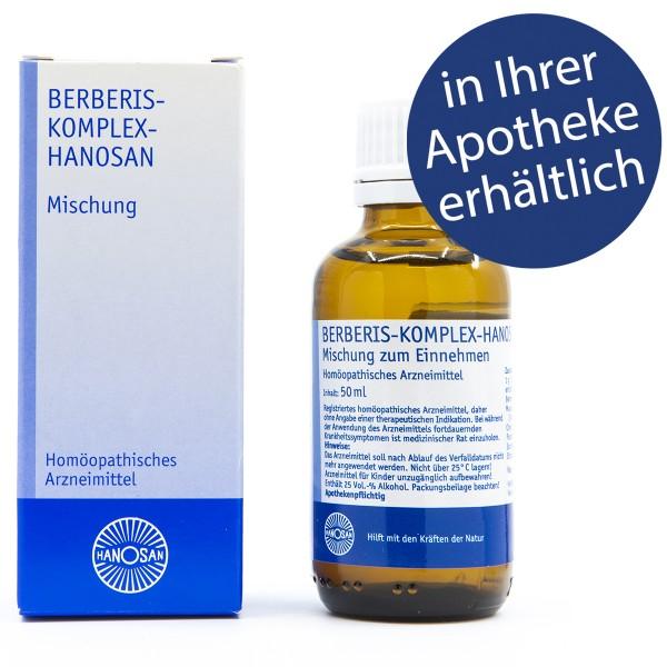 Berberis-Komplex-Hanosan - Tropfen