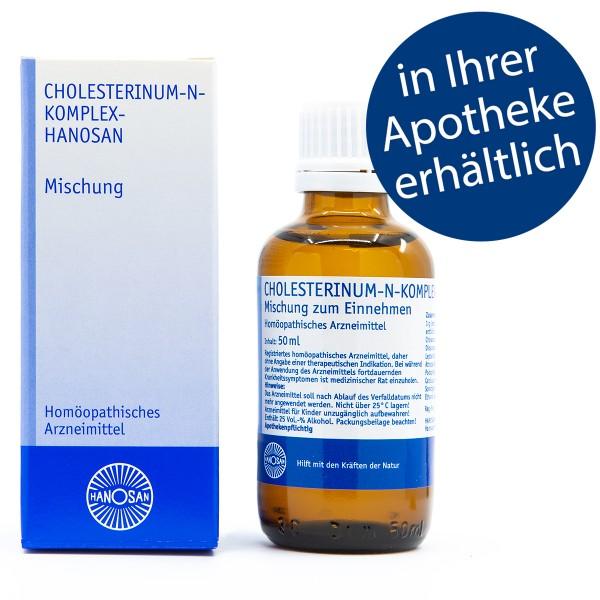Cholesterinum-N-Komplex-Hanosan - Tropfen