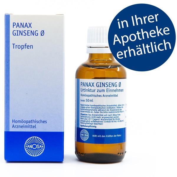 Panax ginseng Ø - Tropfen - 50 ml