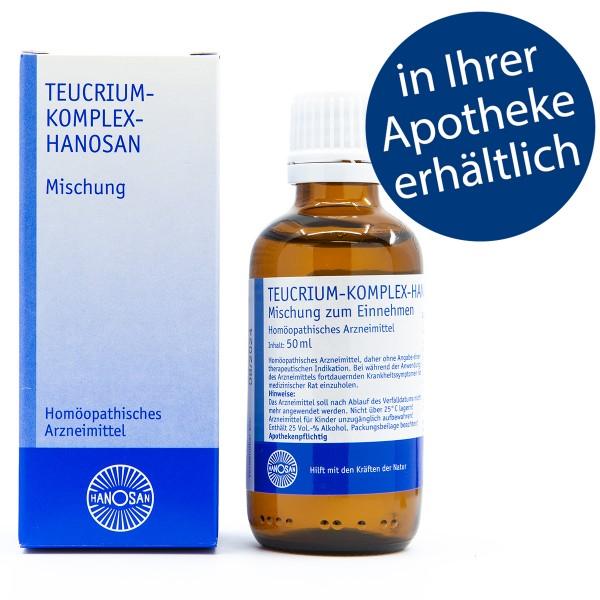 Teucrium-Komplex-Hanosan - Tropfen